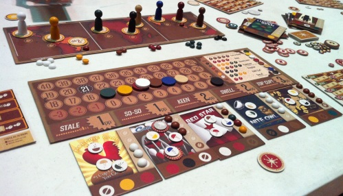 VivaJava in all its glory! (Picture from BGG's Christopher Ross)