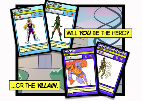 Villains CARDS
