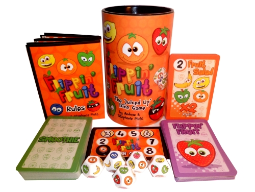 A cute looking, speedy dice game with loads of deranged looking fruit - splendid!